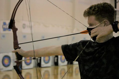 The Rocks archery team includes nearly 50 members.