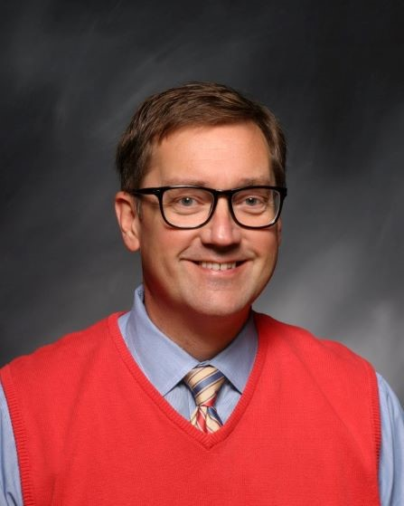 Trinity juniors/seniors Director of Students Mr. Randy Perkins