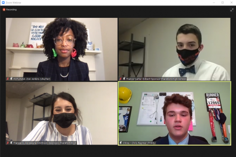 The Rocks took part in a virtual Kentucky United Nations Assembly Mar. 18-19.
