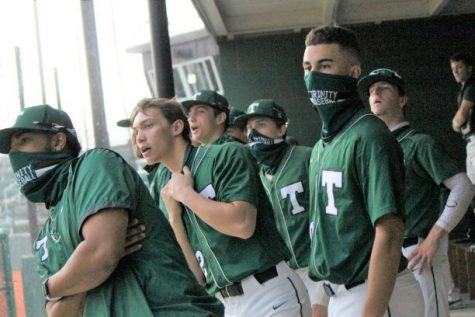 The Rocks took on Jeffersonville at home on Apr. 7.  The teams got in some game time before the rain came.