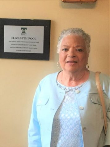 Ms. Elizabeth Pool retired after 51 years with Trinity High School.