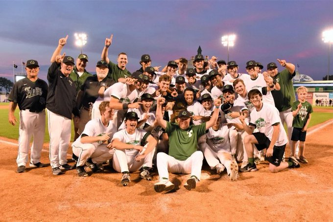 The Rocks captured the schools first baseball state championship with a 10-0 win over McCracken County.