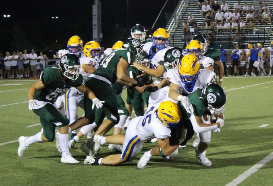 The Rocks took an early lead but could not hold off the Carmel offense.
