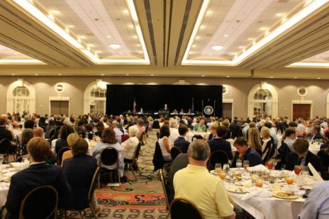 Hundreds attended the annual Shamrock Awards Luncheon, which kicked off Pride Week.