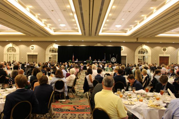 Hundreds+attended+the+annual+Shamrock+Awards+Luncheon%2C+which+kicked+off+Pride+Week.+