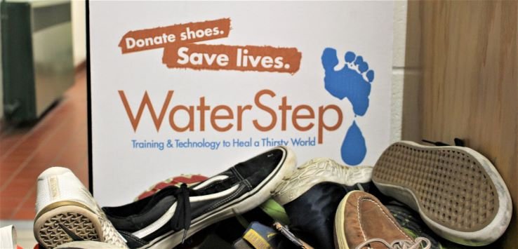 A Step in the Right Direction -- Rocks Collecting Shoes