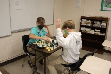The chess Rocks meet in Mr. Josh Kusch
