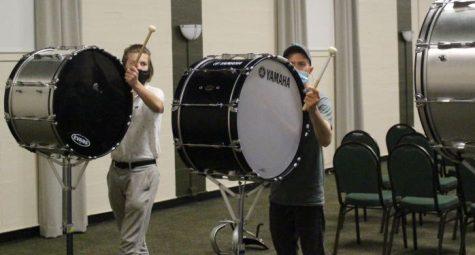 Rocks Bang the Drum for Shamrock Spirit
