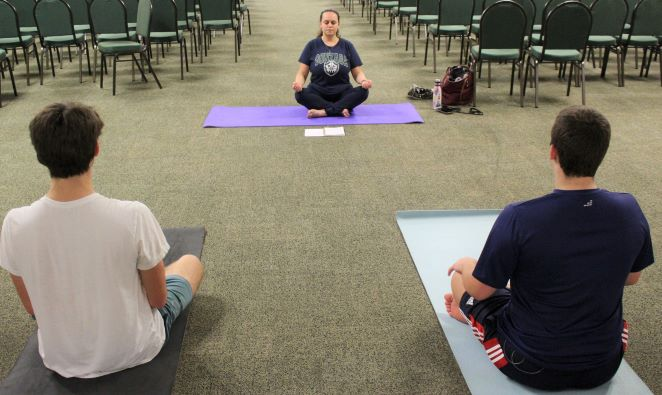 The Yoga Club has joined Trinitys extensive list of student activities.